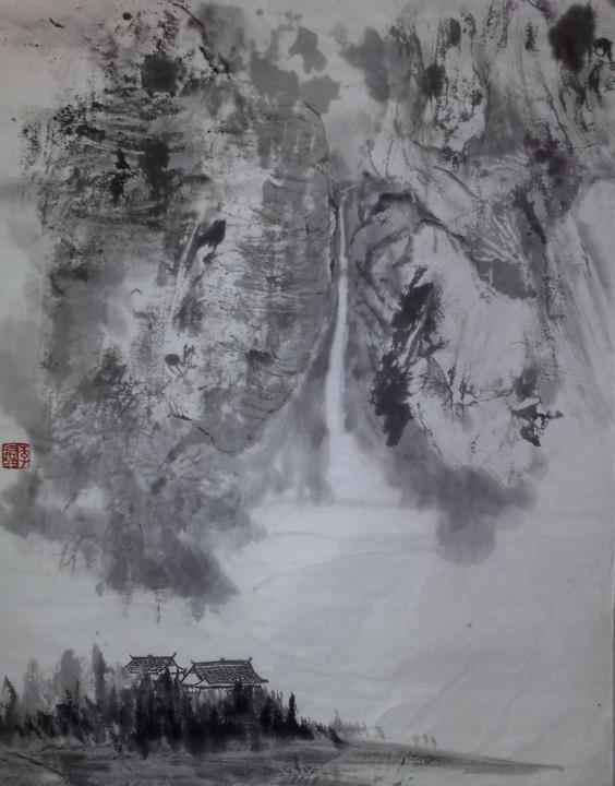 李振華導師國晝作品